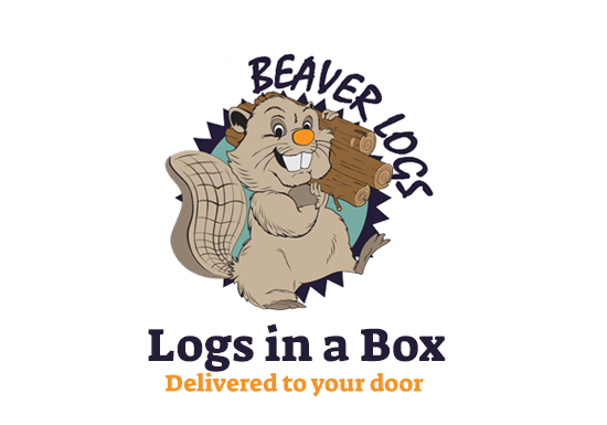Logs Delivered to Your Door - 48-Hour - UK Mainland   Logs in a Box